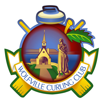Wolfville Curling Club Crest