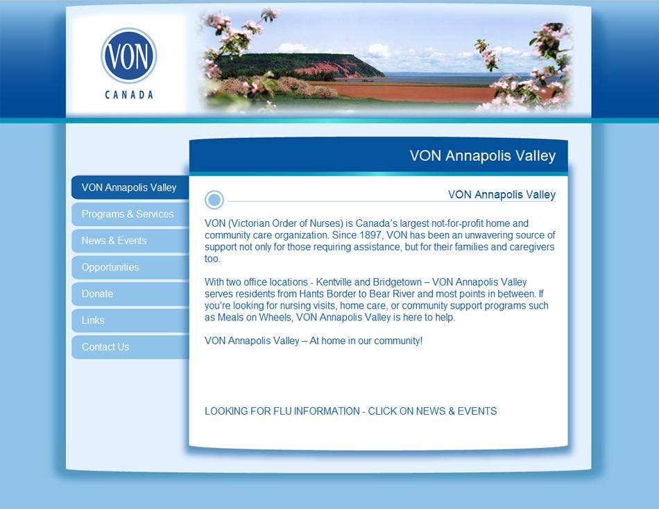 VON Annapolis Valley Branch, Kentville
